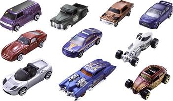 Hot Wheels Cadeauset met 10 Auto's