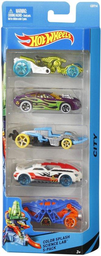 Hot Wheels Cadeauset met 5 Auto's
