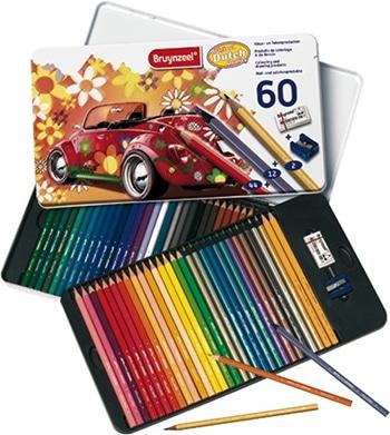 Kleurblik Super Sixties Kever 60-delig