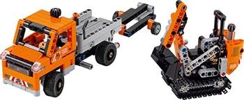 LEGO Technic Wegenbouwploeg