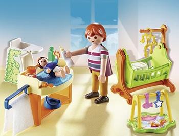 PLAYMOBIL Babykamer met wieg
