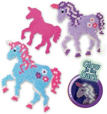 Ses Strijkkralen Fantasy paard