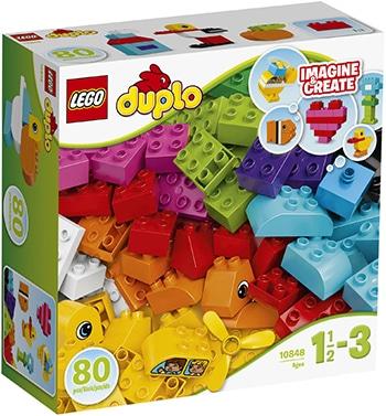 meerkleurige bouwstenen voor peuters van LEGO Duplo