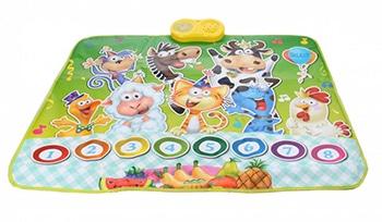 interactieve dierenspeelmat voor kinderen