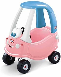 meerkleurige kunststof loopwagen voor meisjes van Little Tikes