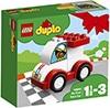 meerkleurige kunststof racewagen van LEGO Duplo