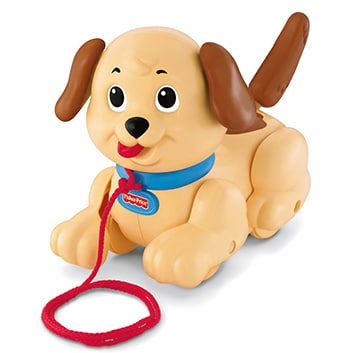 meerkleurige speelgoed hond Little Snoopy van Fisher-Price