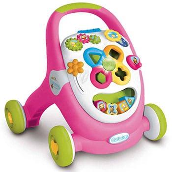 roze loop en -speelwagen voor meisjes