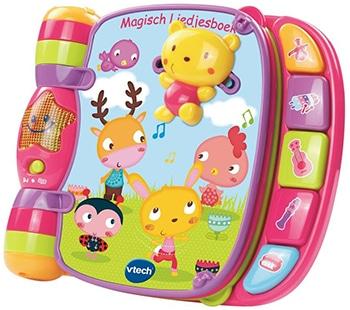 roze liedjesboek voor babys van vtech