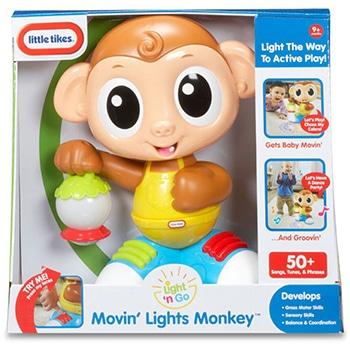 meerkleurige kunststof speelgoedaap voor kinderen
