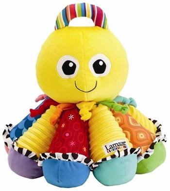 speelgoedknuffel octopus voor baby's