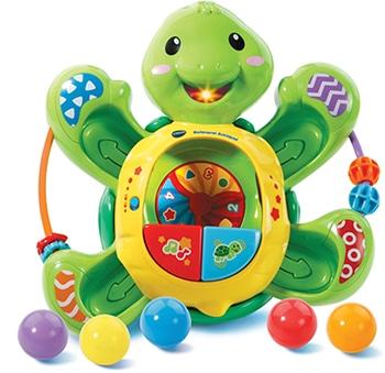 meerkleurige speelgoedschildpad voor kinderen van Vtech