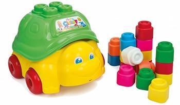 meerkleurige speelgoedschildpad met kunststof blokken van Clementoni