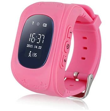 GPS tracker kinderhorloge - roze
