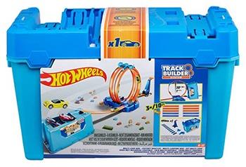 Hot Wheels Track Builder Looping Challenge stunt box