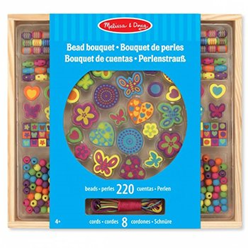 Houten speelgoed kralenset Bouquet Deluxe