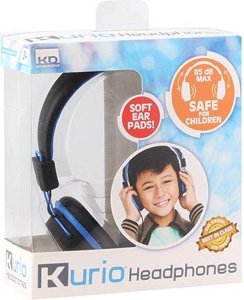 Kurio kinderhoofdtelefoon - blauw