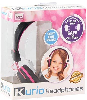 Kurio kinderhoofdtelefoon roze
