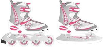 Nijdam junior skate/schaats combo maat 31-34 - wit