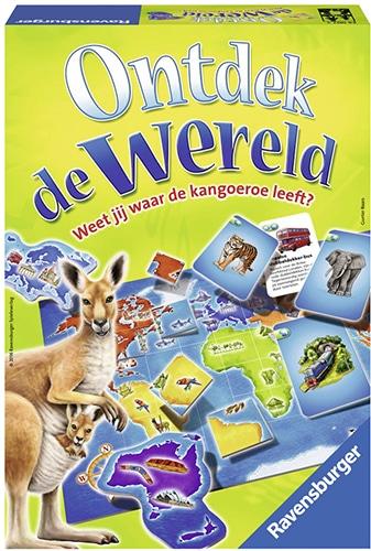Ravensburger Ontdek de wereld - kinderspel