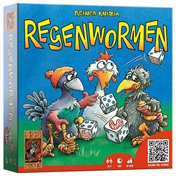 Regenwormen dobbelspel voor kinderen