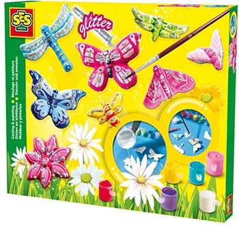 SES Creative vlinders gieten en schilderen