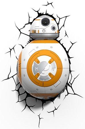Star Wars 3D lamp BB-8