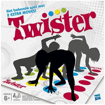 Twister vloerspel