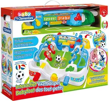 meerkleurig interactief voetbalspel voor kinderen van Clementoni