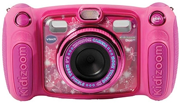 roze kindercamera voor meisjes van VTech