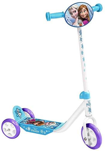 wit/blauwe kinderstep voor meisjes van Disney Frozen