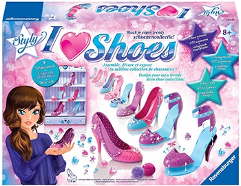 ravensburger i love shoes maxi: pumps princess