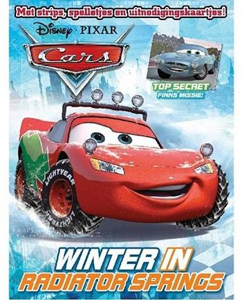 meerkleurig tijdschrift van Disney Cars