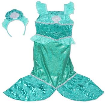zeemeermin verkleedset voor meisjes van Melissa & Doug