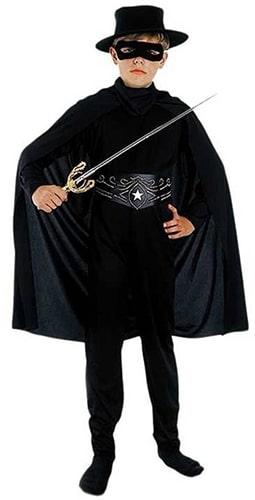 Zorro-kostuum voor kinderen