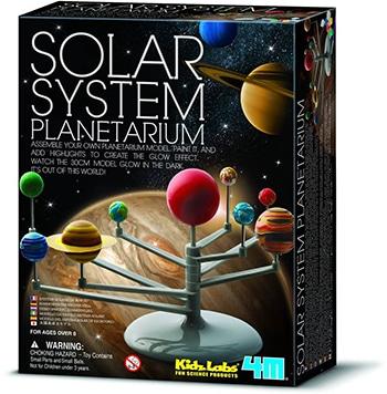 4m kidzlabs ruimte bouwset planetenstelsel