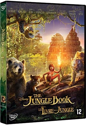 DVD 3-pack Jungle Book, Incredibles en Ratatouille