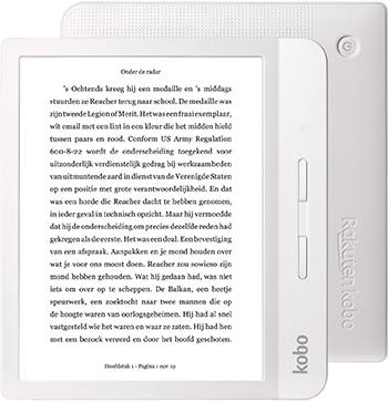 Kobo Libra H2O White e-reader