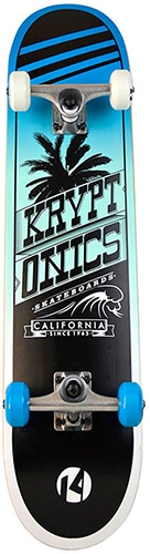kryptonics cali swell skateboard