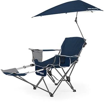 sport-brella verstelbare strandstoel met parasol