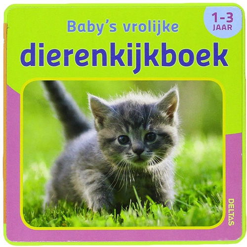 Babys vrolijke dierenkijkboek