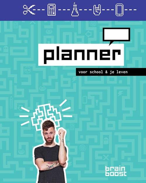 BrainBoost planner - Voor school & je leven