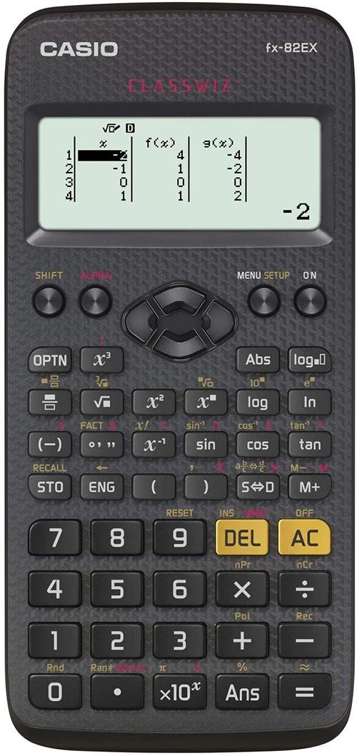 Casio FX-82EX rekenmachine
