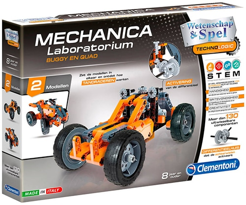 Clementoni 66791 Technologie Buggy 2-in-1