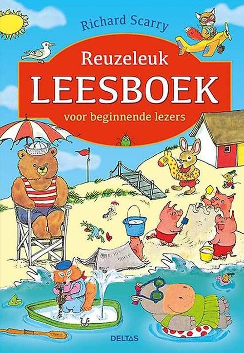 Deltas leren lezen Scarry Reuzeleuk leesboek