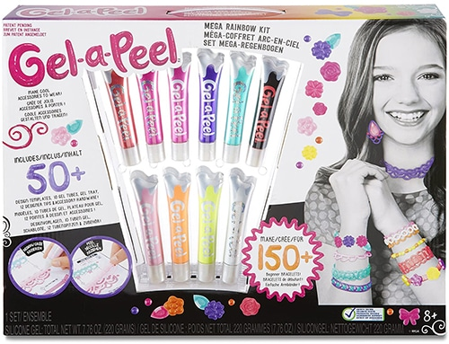 Gel-a-Peel mega-Regenbogen-Set