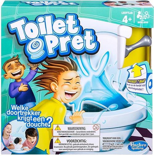 Hasbro Gaming Toiletpret bordspel