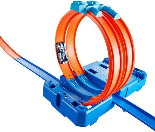 Hot Wheels FLK90 Track Builder - Loopingsset