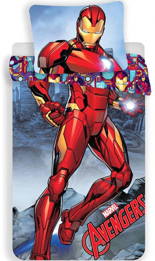 Iron Man dekbedovertrek