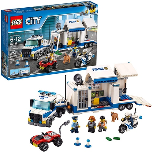 LEGO City 60139 - Mobiele commandocentrale
